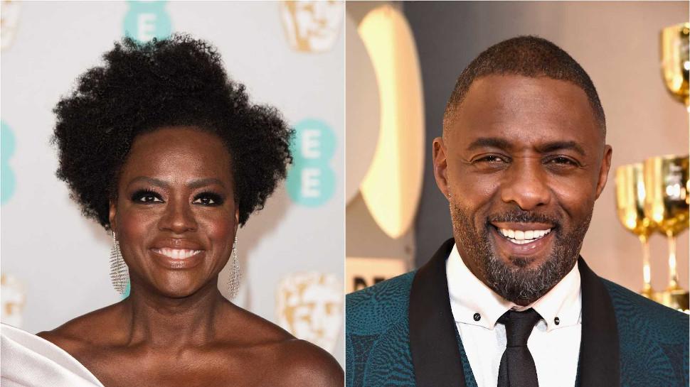 Viola Davis και Idris Elba