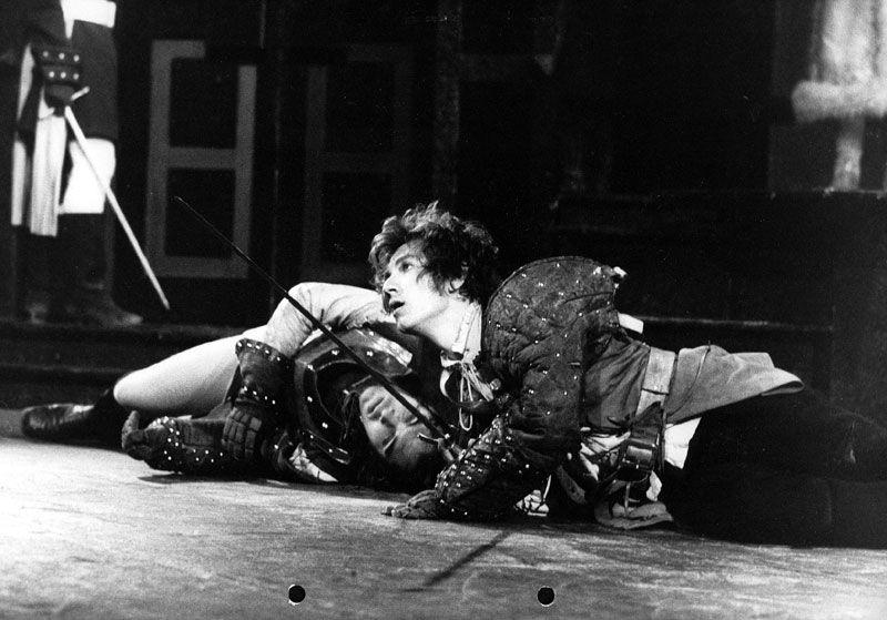 Ο Ian McKellen ως Άμλετ, το 1971
