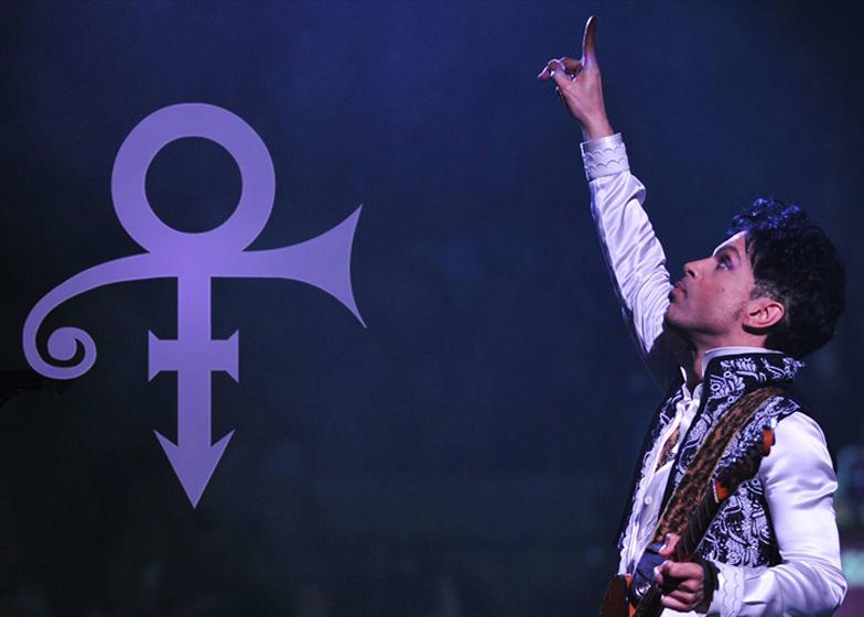 """Το """"σύμβολο"""" του Prince, πορτραίτο του Mitch Monson"""