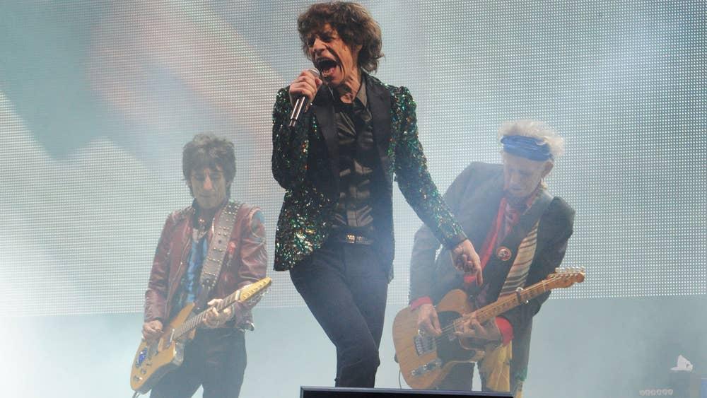 Οι Rolling Stones στο Glastonbury το 2013