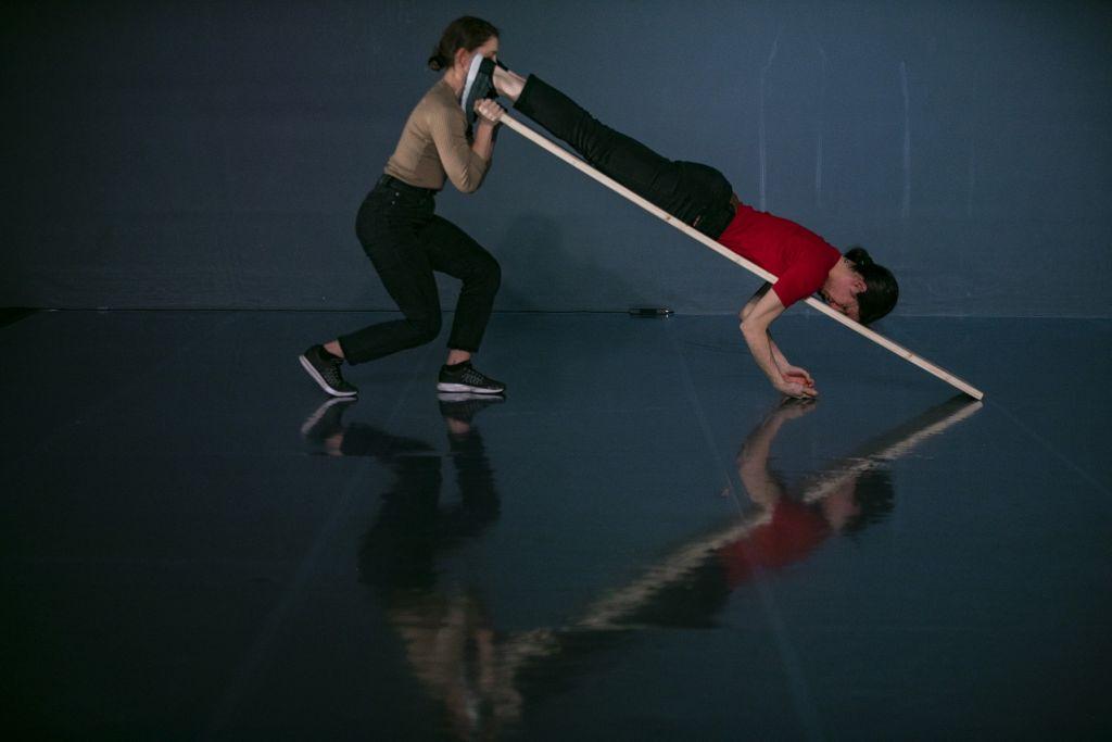 Παράσταση Χορού: «manoeuvre_» | Φωτογραφία: Andreas Simopoulos