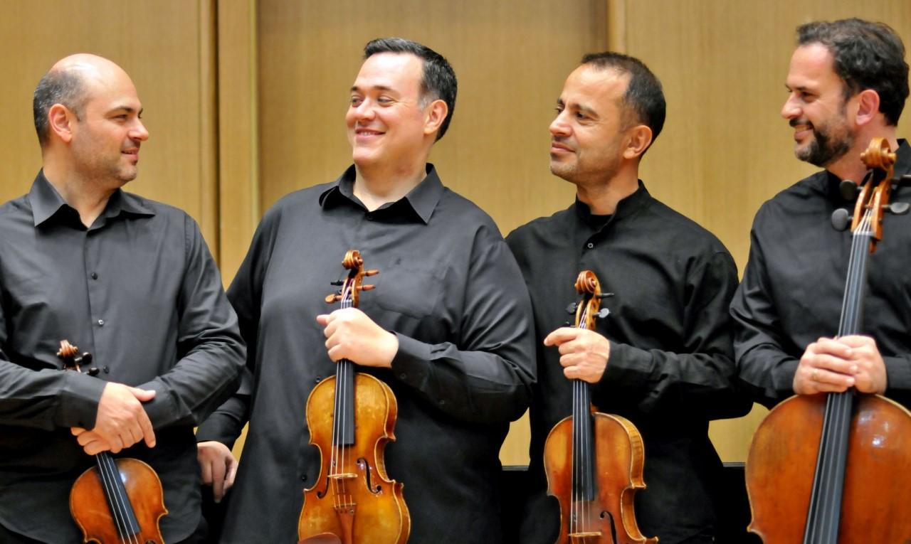 Το Κουαρτέτο Εγχόρδων Αθηνών της Κρατικής Ορχήστρας Αθηνών