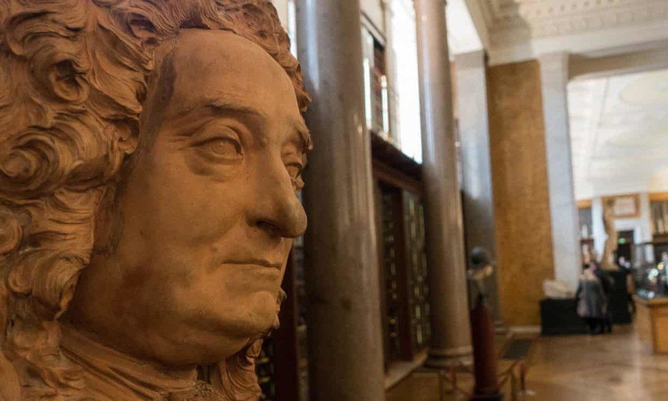 Το Βρετανικό Μουσείο ιδρύθηκε από τον σερ Σλόαν
