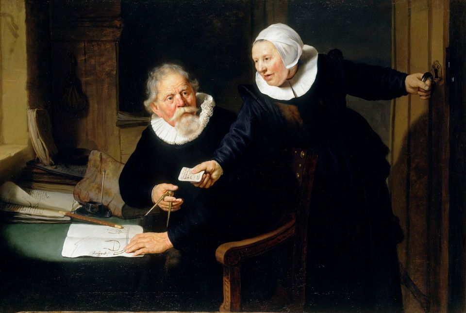 «The Shipbuilder and his Wife» του Ρέμπραντ