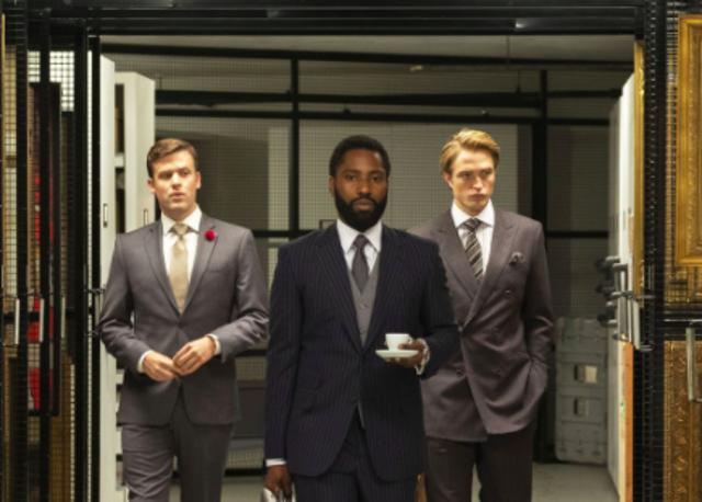 Tenet, Τζον Ντέιβιντ Γουάσινγκτον ως ο Πρωταγωνιστής και Ρόμπερτ Πάτινσον ως Νιλ