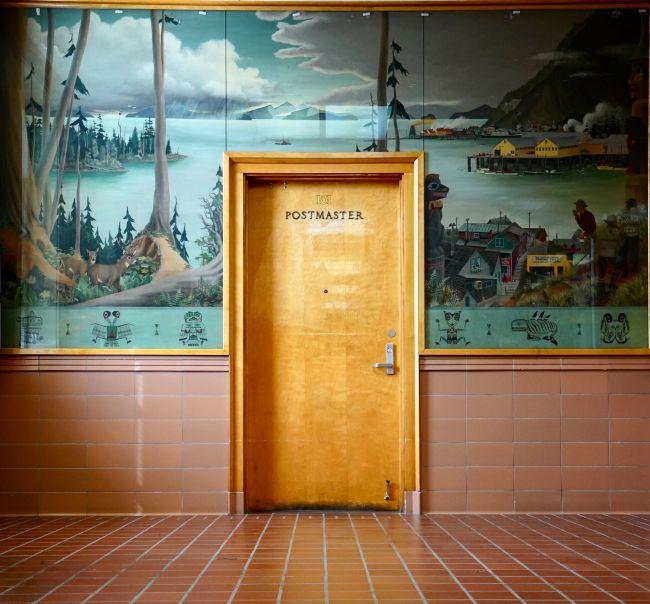 Post office, Wrangell, Alaska από τους Robin Petravic και Catherine Bailey