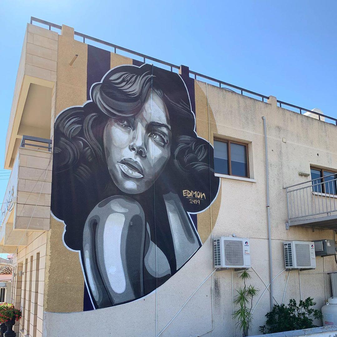 Έργο του EDMON1419, street artist που θα συμμετέχει στο 5ο Διεθνές Street Art Φεστιβάλ της Πάτρας
