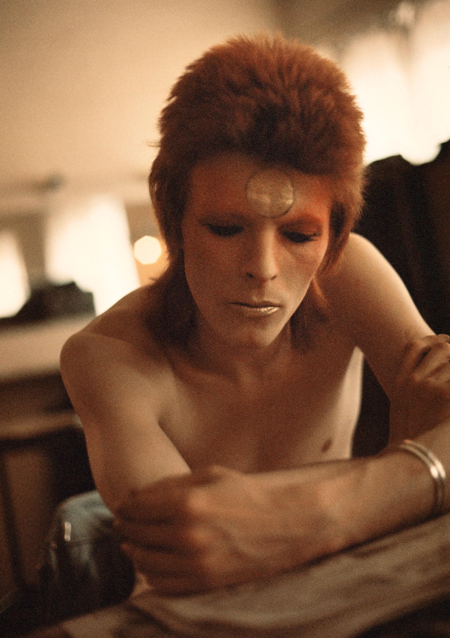 Ντέιβιντ Μπόουι στο Hammersmith Odeon, London, 1973, © Geoff MacCormack