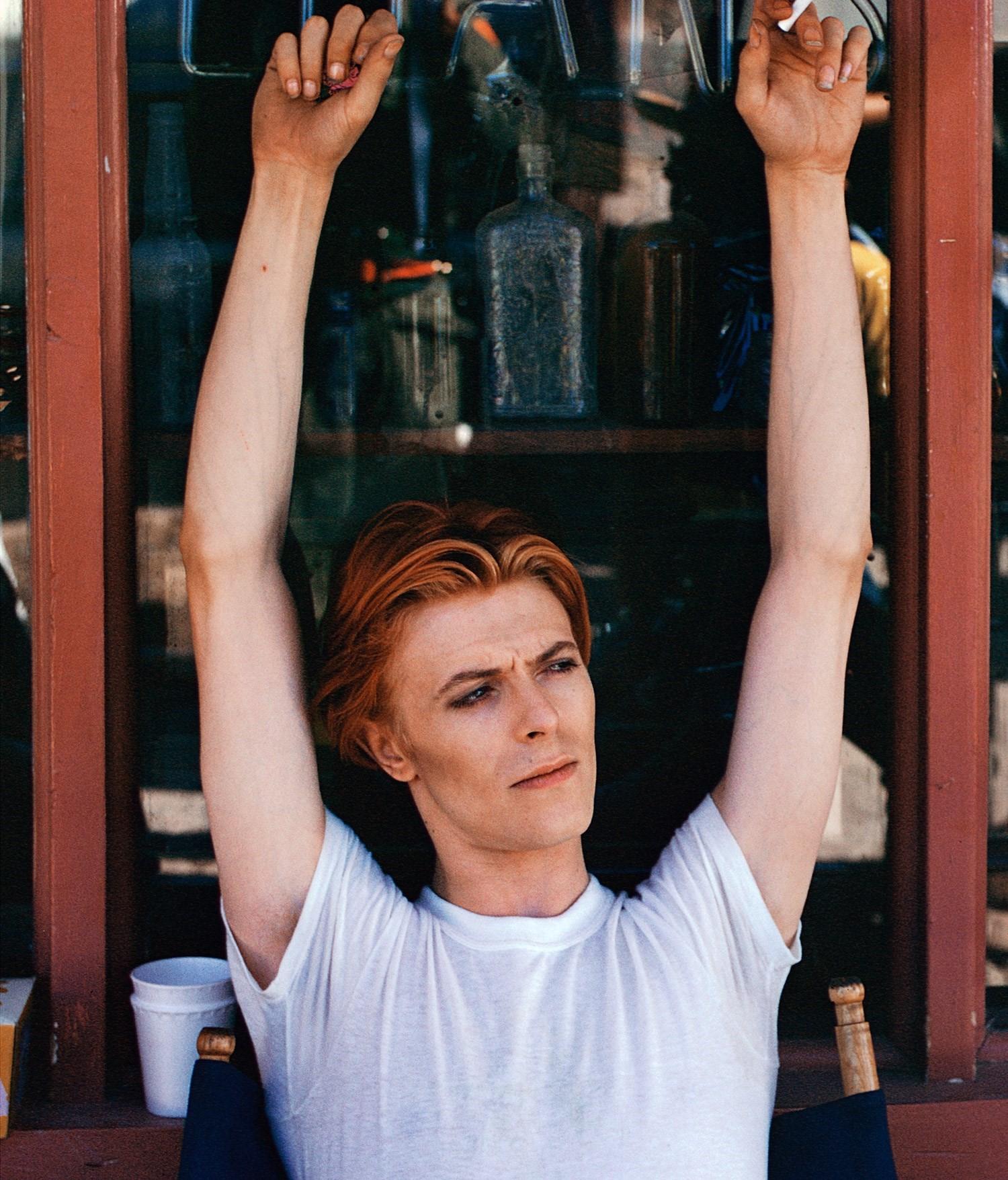 David Bowie: Fenton Lake, New Mexico, © Geoff MacCormack