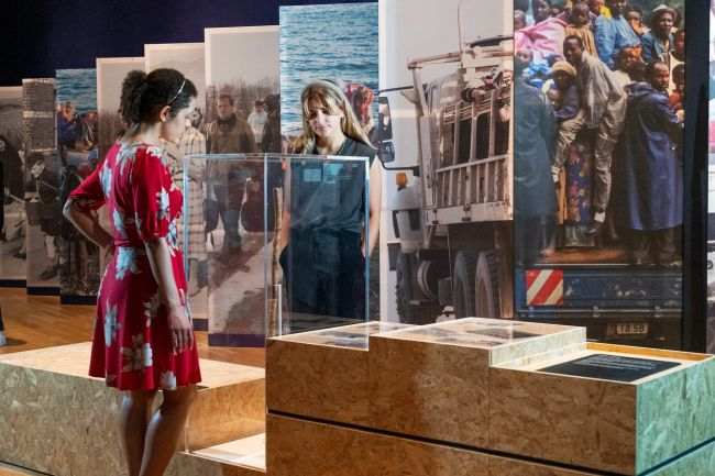 Η έκθεση στο Αυτοκρατορικό Πολεμικό Μουσείο στο Λονδίνο