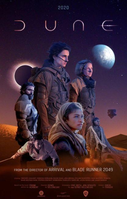 """Η αφίσα της ταινίας """"Dune"""""""