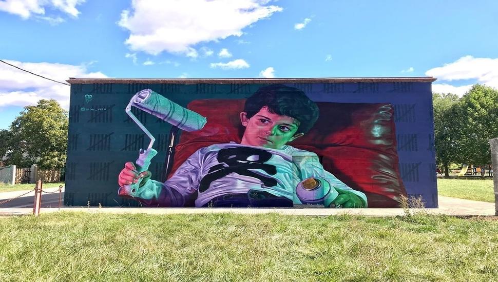 ArtWalk 5: Ξεκινάει η δημιουργία της 6ης Τοιχογραφίας