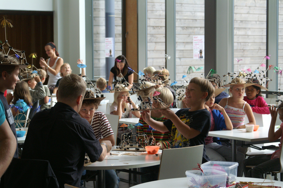 Ίδρυμα Θεοχαράκη: ARKKI Σχολείο αρχιτεκτονικής για παιδιά – Για παιδιά νηπιαγωγείου (4-5 ετών) και δημοτικού (6-12 ετών)
