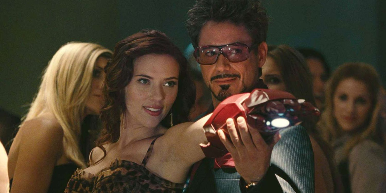 O Iron Man και η Black Widow