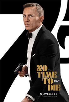 """Αφίσα για την ταινία """"No Time to Die"""""""