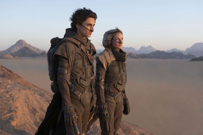 """Στιγμιότυπο από την ταινία """"Dune"""""""