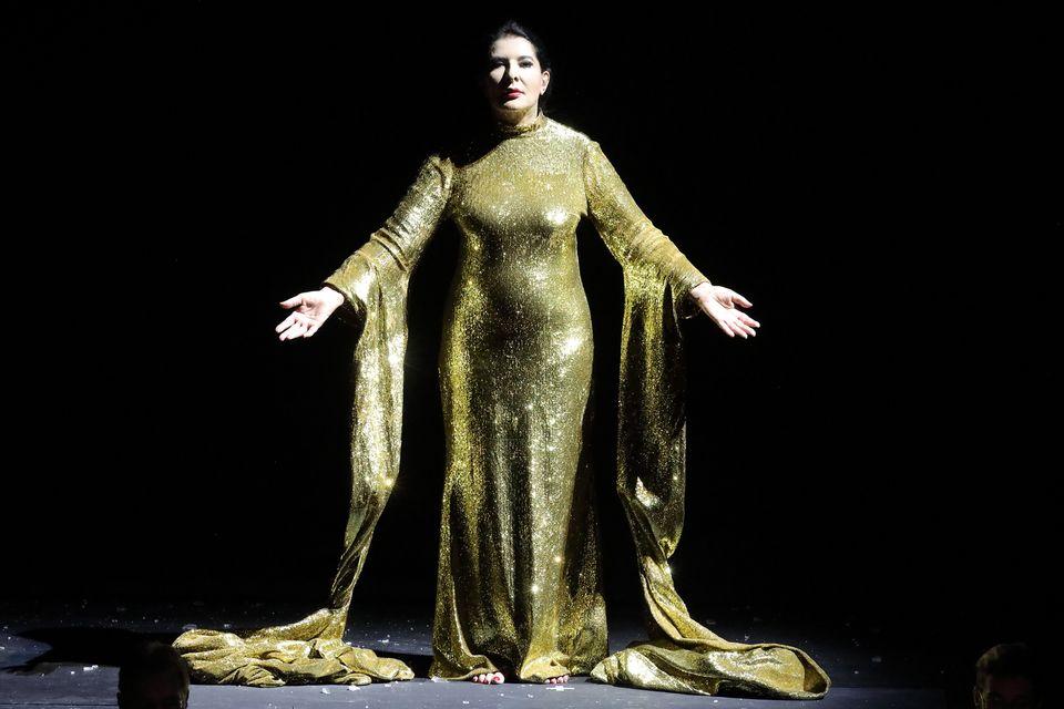 Η Μαρίνα Αμπράμοβιτς ως Μαρία Κάλλας, φωτογραφία: Wilfred Hosl