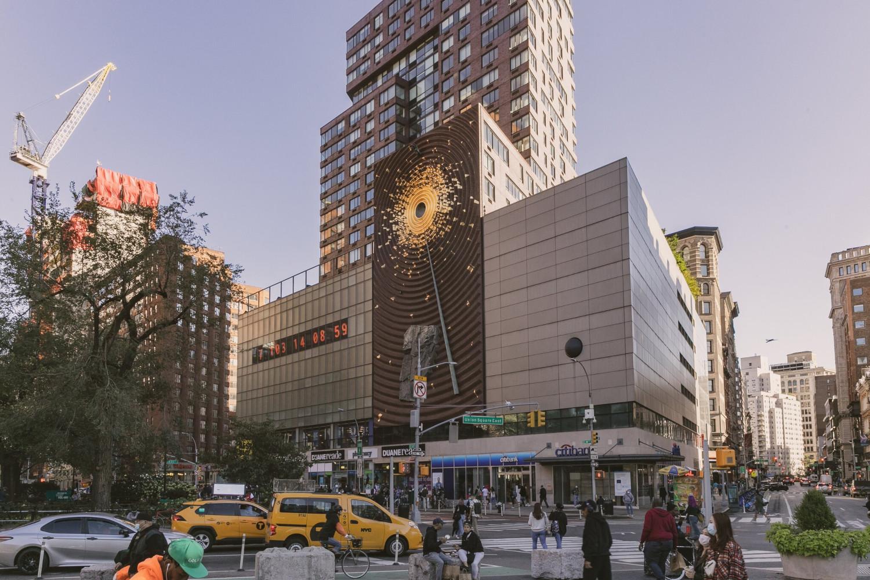 """Το """"Κλιματικό Ρολόι"""" ή Metronome στην Νέα Υόρκη, Jeenah Moon for The New York Times"""