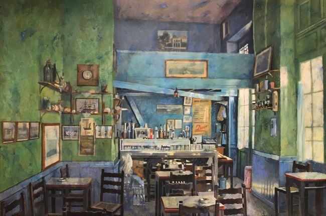 Καφέ Παράδεισος: Έκθεση του Παύλου Σάμιου στη γκαλερί Σκουφά - Monopoli.gr