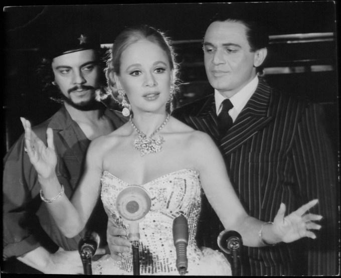 """Βλάσσης Μπονάτσος, Αλίκη Βουγιουκλάκη στην παράσταση """"Εβίτα"""""""