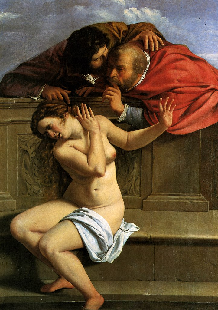 Sussana and the Elders (1610), Αρτεμισία Τζεντιλέσκι