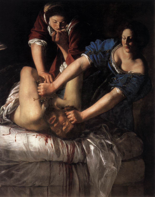 """""""Η Ιουδήθ σκοτώνει τον Ολοφέρνη"""" (1612): Χαρακτηριστικό παράδειγμα των δυναμικών γυναικών στα έργα της Αρτεμισία"""