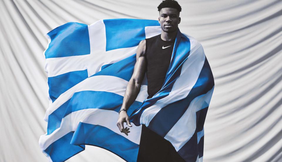 Γιάννης Αντετοκούνμπο για καμπάνια της Nike