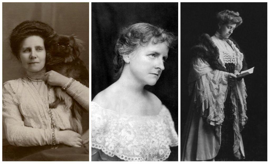 Από αριστερά οι συγγραφείς: BM Croker, Mary E Wilkins Freeman και Edith Wharton