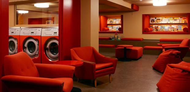 Πλυντήρια σε ένα από τα πιο ιδιαίτερα καφέ του κόσμου