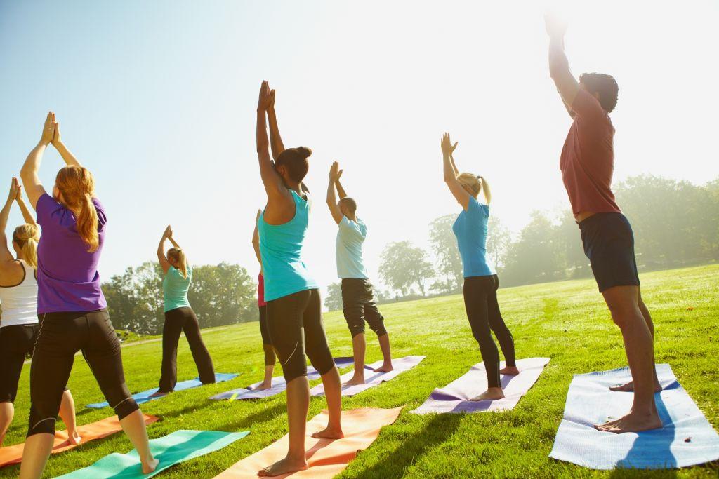 Yoga στο Πάρκο στο Κέντρο Πολιτισμού Ίδρυμα Σταύρος Νιάρχος
