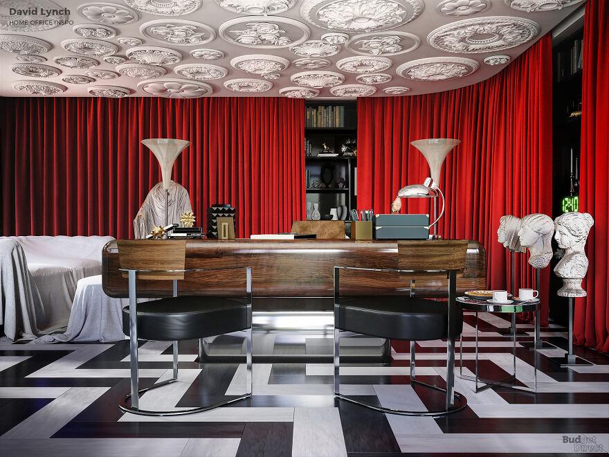 Μπορείτε να μαντέψετε ποιου γνωστού σκηνοθέτη γραφείο θα μπορούσε να είναι αυτό;