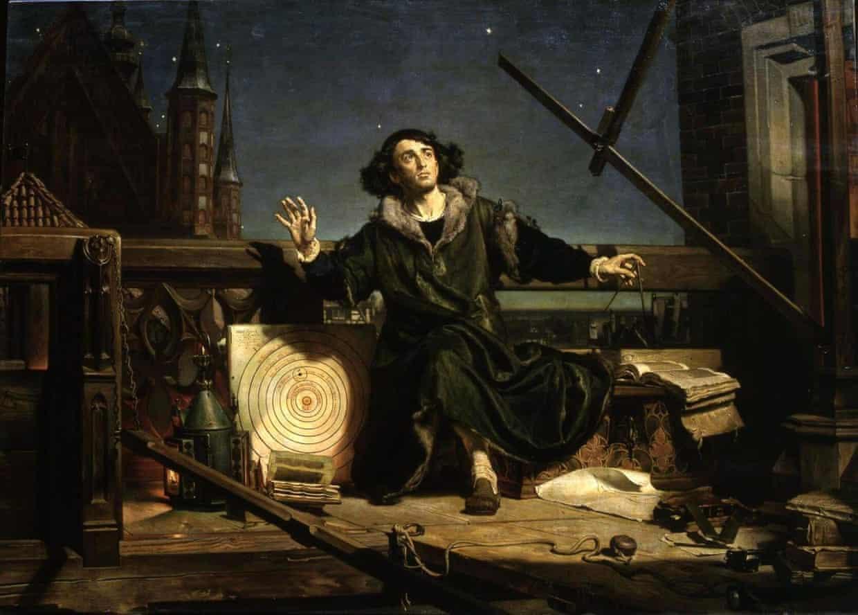 """""""Ο Αστρονόμος Κοπέρνικος"""" του Γιαν Ματέικο"""