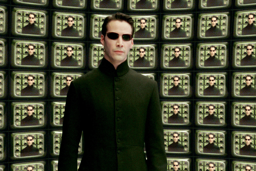 O Κιάνου Ριβς στο Matrix