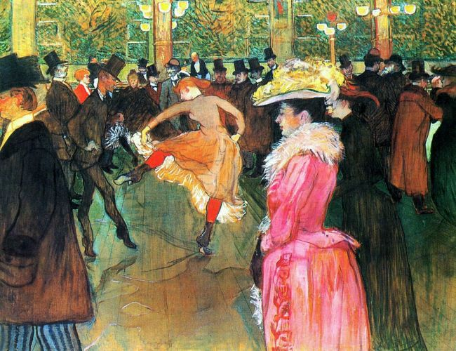 At the Moulin Roug, The Dance