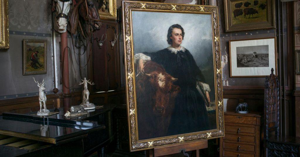 Πορτραίτο της ζωγράφου Rose Bonheur από τον Édouard Dubufe | Φωτογραφία: Claudine Doury