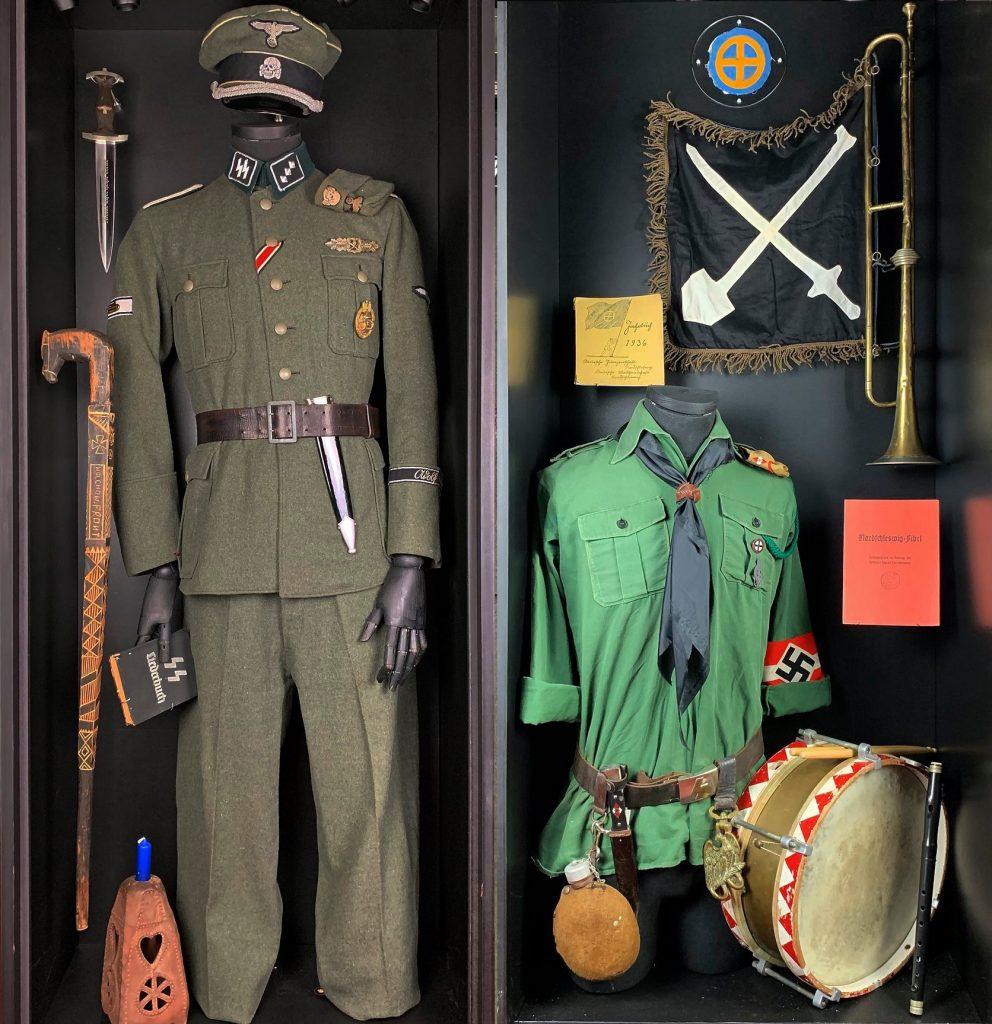 Στολές Ναζί στο Deutsches Museum Nordschleswig
