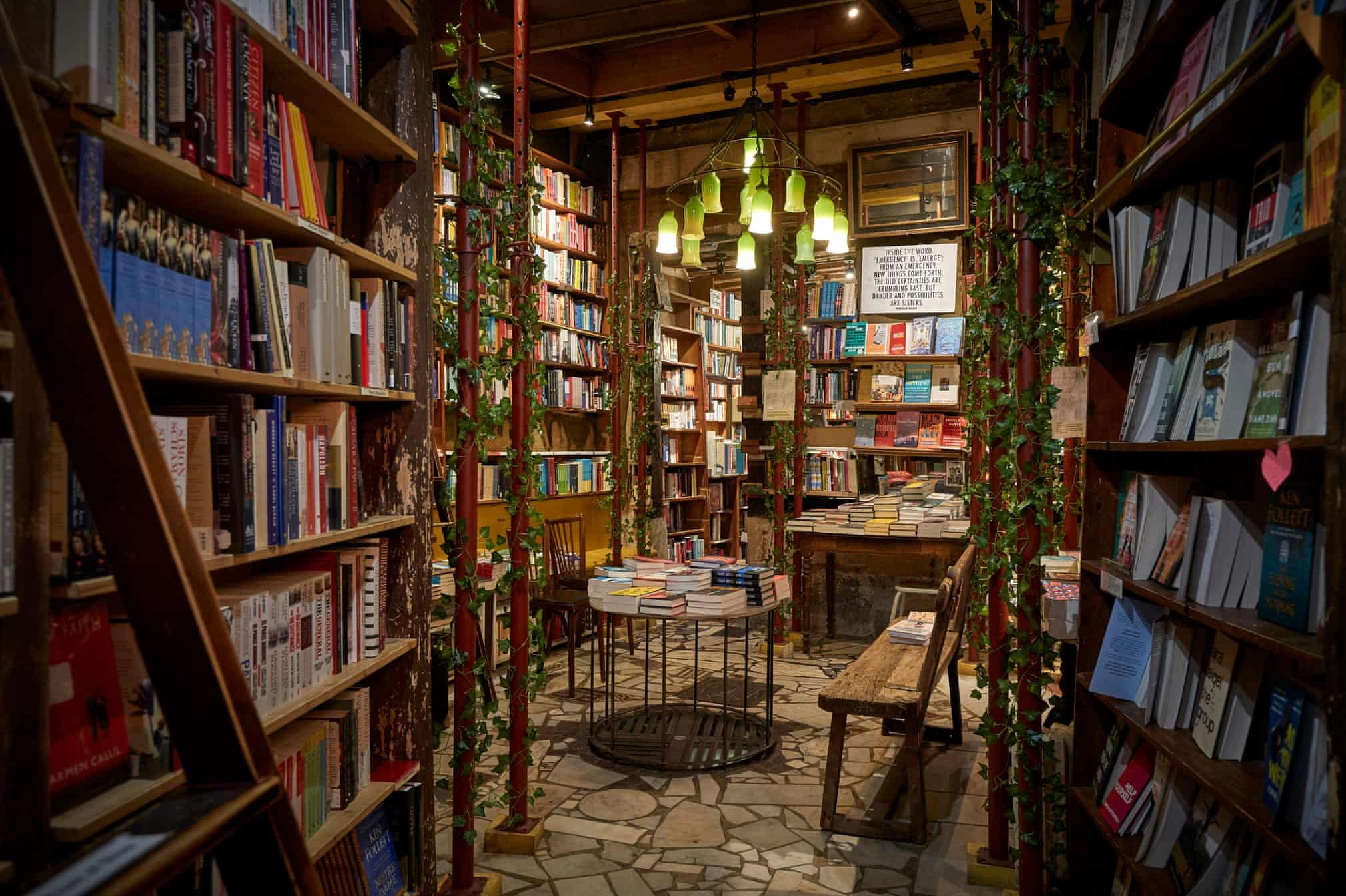 """Ο Γουίτμαν είχε οραματιστεί το βιβλιοπωλείο του ως μία """"σοσιαλτικ"""