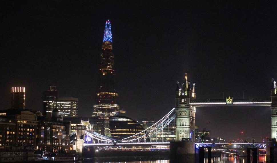 Ο ουρανοξύστης Shard είναι το υψηλότερο κτίριο του Λονδίνου