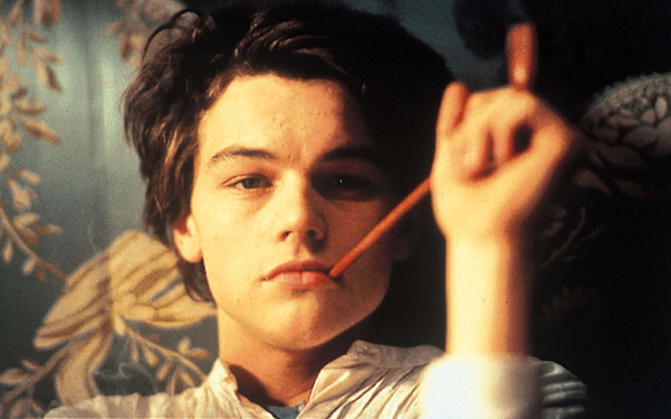Λεονάρντο Ντι Κάπριο ως Arthur Rimbaud στο Total Eclipse