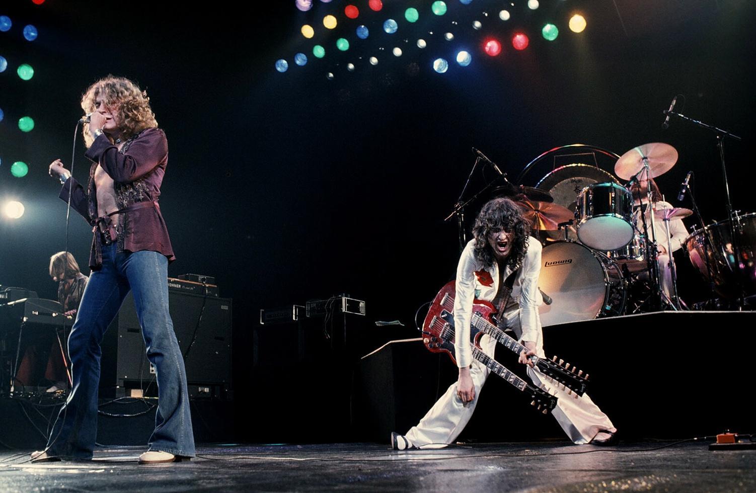 Οι Led Zeppelin σε περιοδεία το 1977