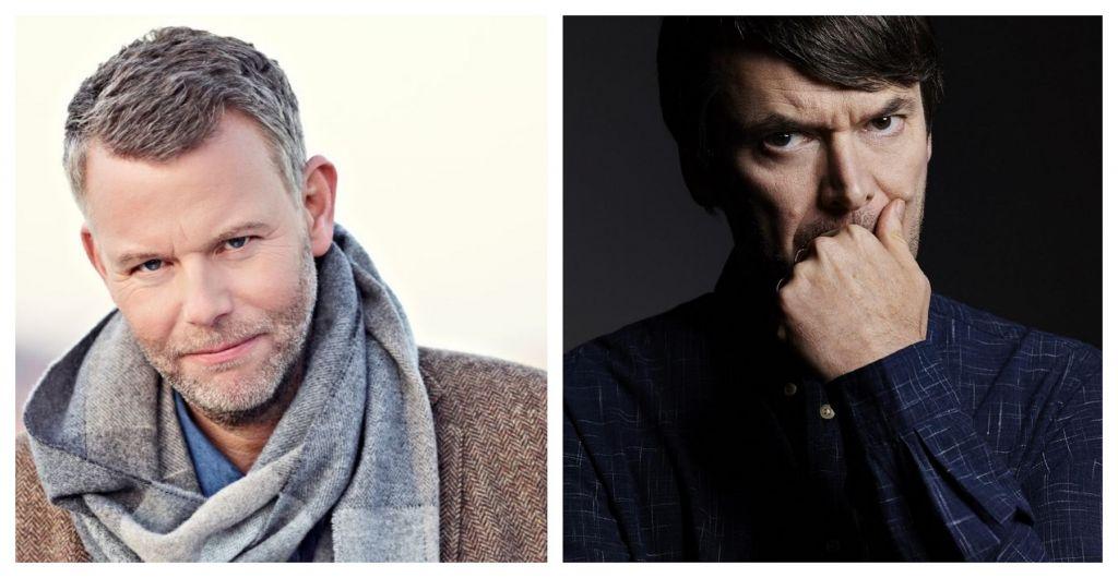Αριστερά: Arne Dahl, Δεξιά: Ian Rankin