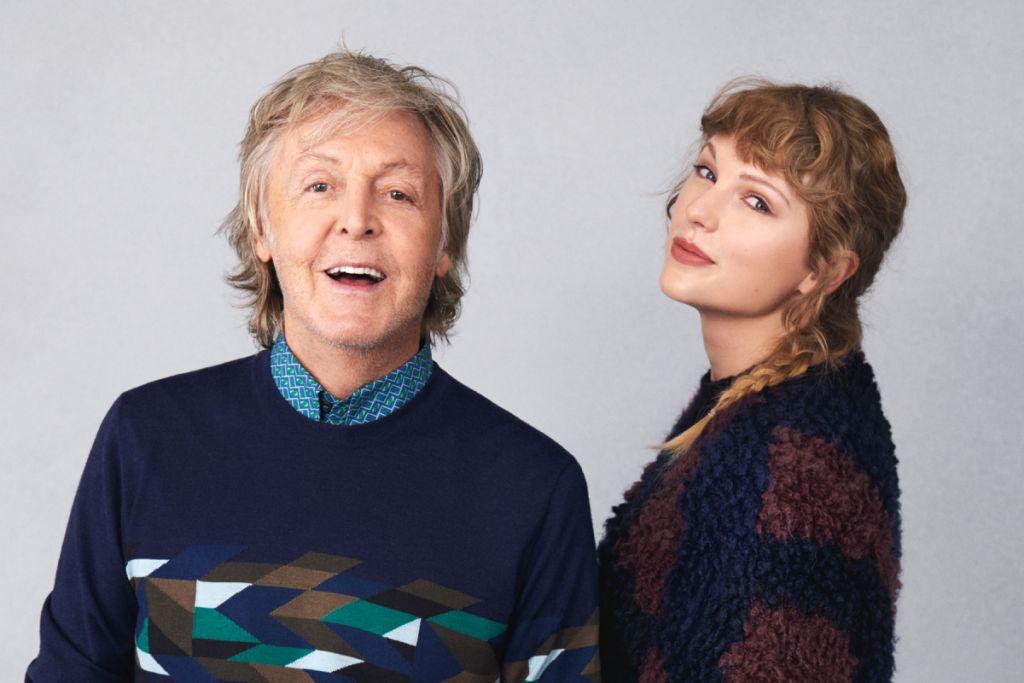 Ο  Paul McCartney και η Taylor Swift, πηγή: Rolling Stone