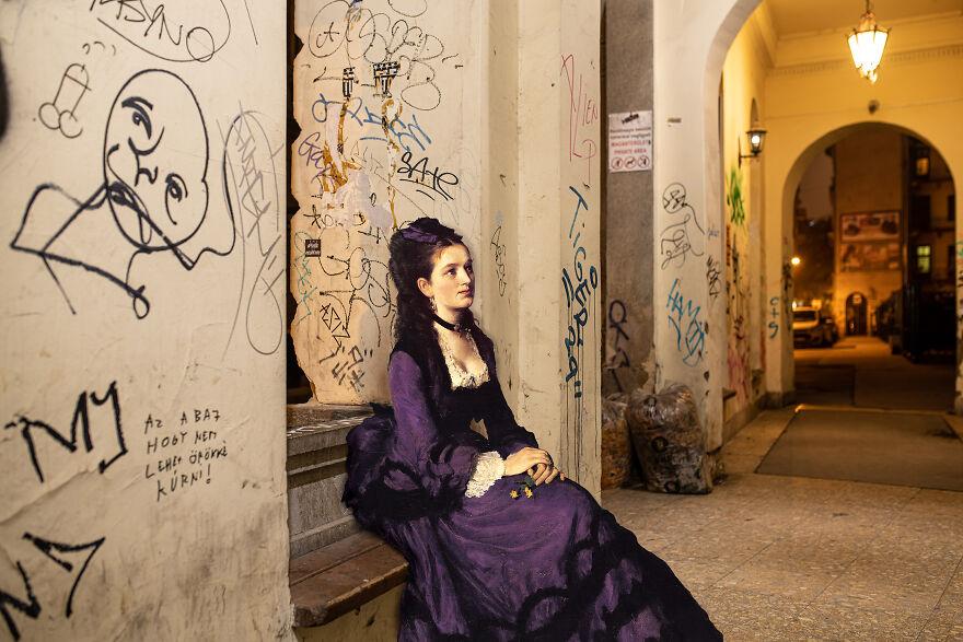 Pál Szinyei Merse: Lady In Violet