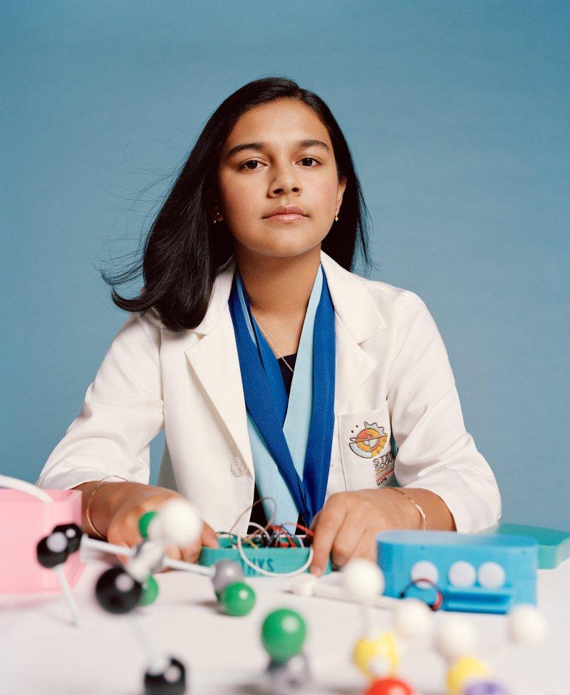 Η Gitanjali Rao είναι το Παιδί της Χρονιάς για το περιοδικό TIME