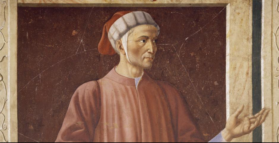 Δάντης, Andrea del Castagno, Galleri Uffizi