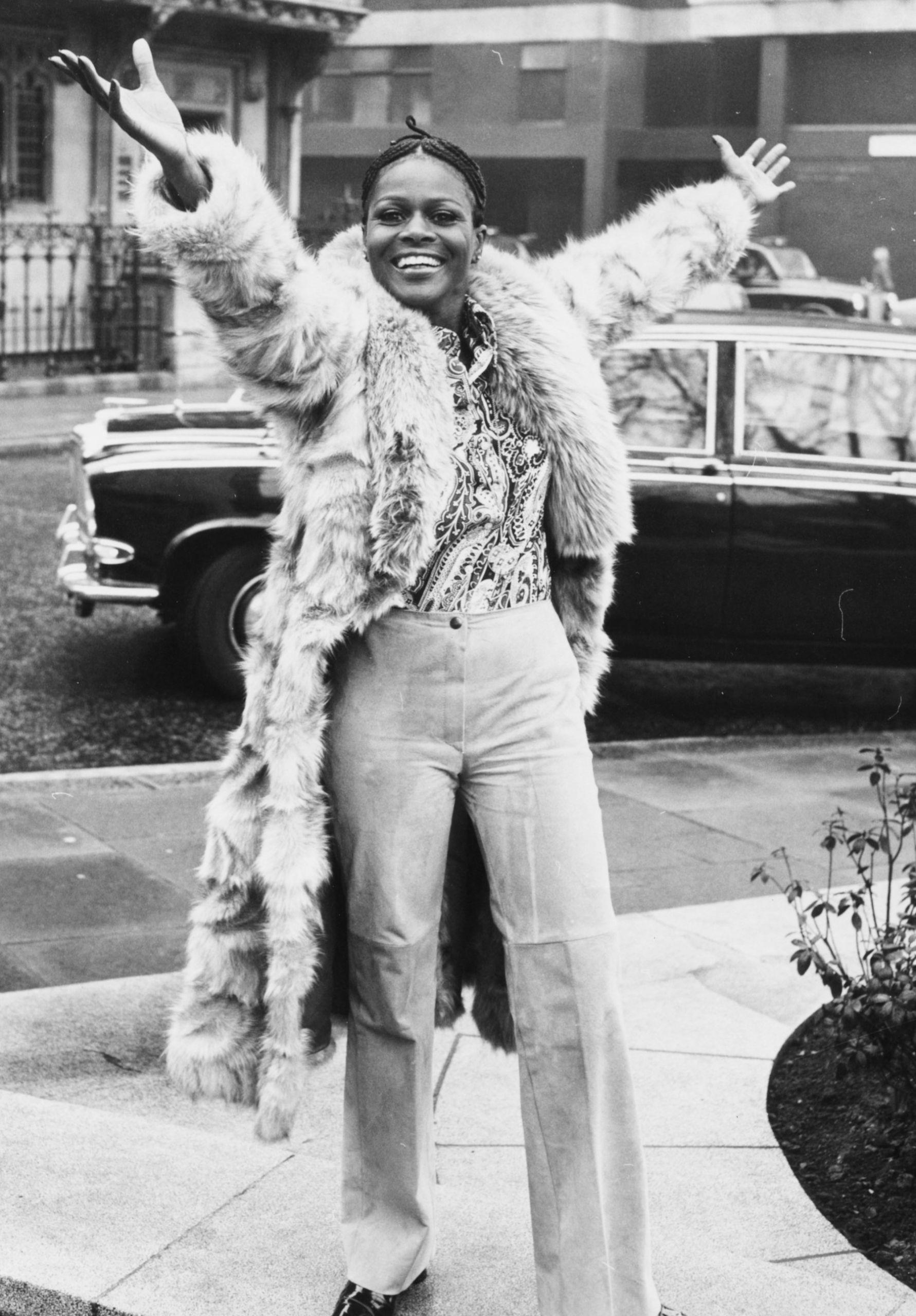 Η Σίσελι Τάισον την δεκαετία του '70