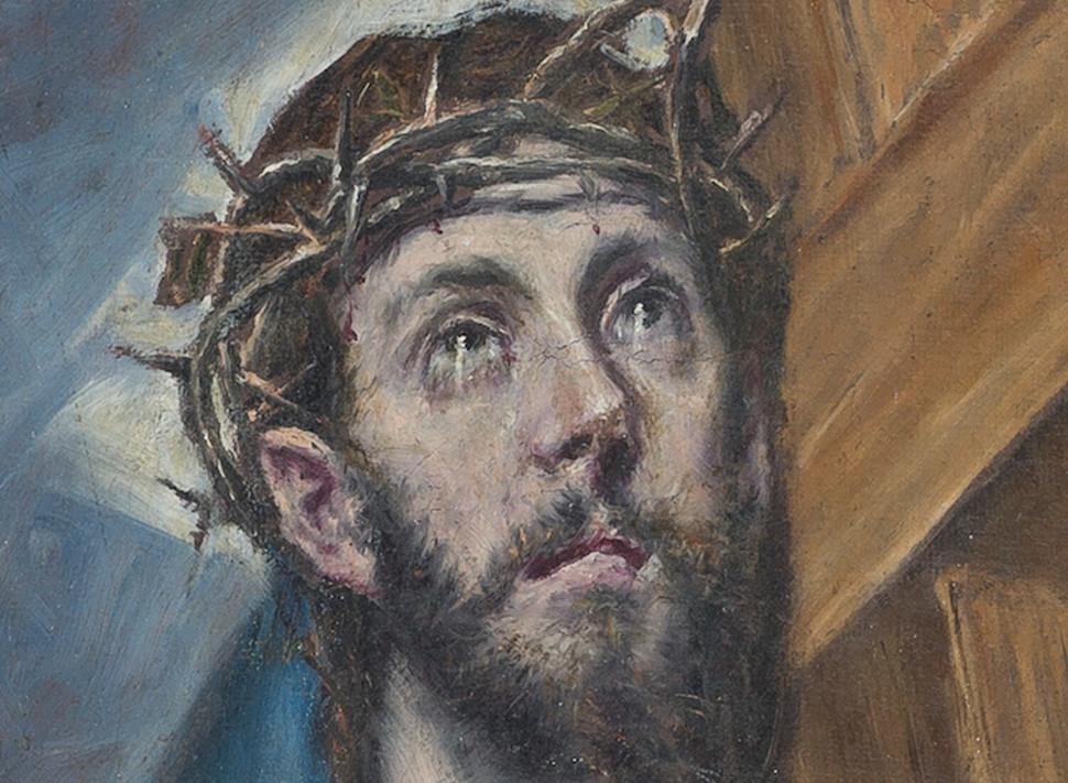 Λεπτομέρεια στον πίνακα του Ελ Γκρέκο