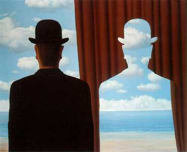 Rene Magritte - Decalcomania