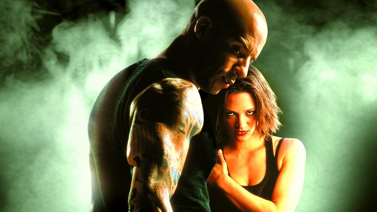 """Η Άζια Αρτζέντο με τον Βιν Ντίζελ στην αφίσα της ταινίας """"XXX"""""""