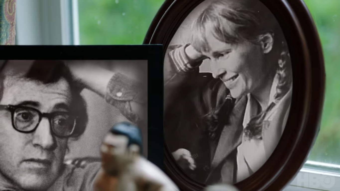 Γούντι Άλεν-Μία Φάροου, φωτογραφίες από το προσωπικό αρχείο της Μία Φάροου, credits: HBO